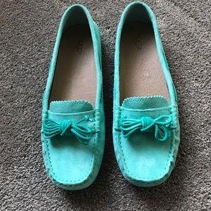 Ugg Tiffany Blue Loafers